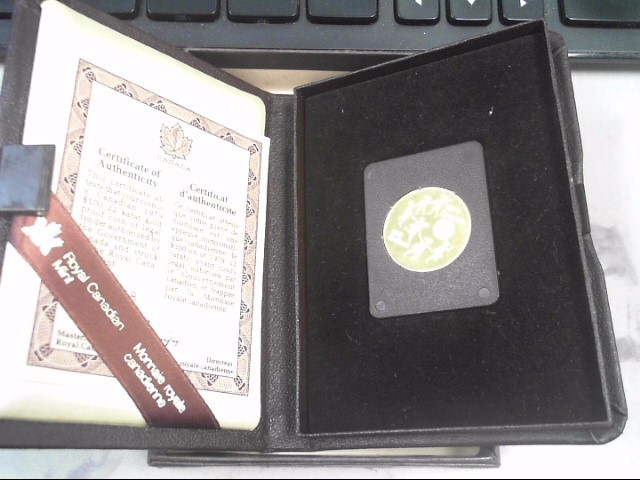 1979 CANADA Gold Coin 100 DOLLAR 1/2OUNCE GOLD COIN 100 DOLLAR GOLD COIN