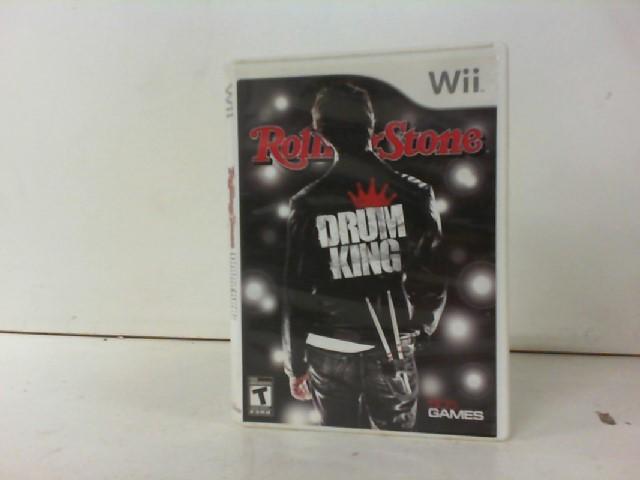 NINTENDO Nintendo Wii Game ROLLING STONE DRUM KING