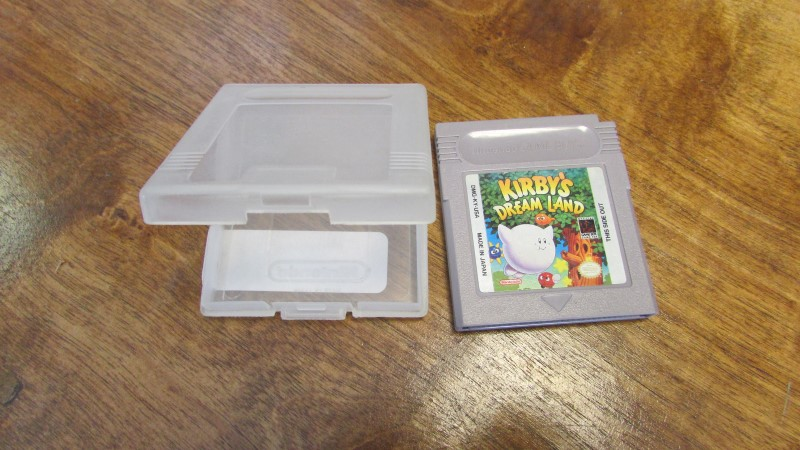 NINTENDO Vintage Game KIRBY'S DREAM LAND