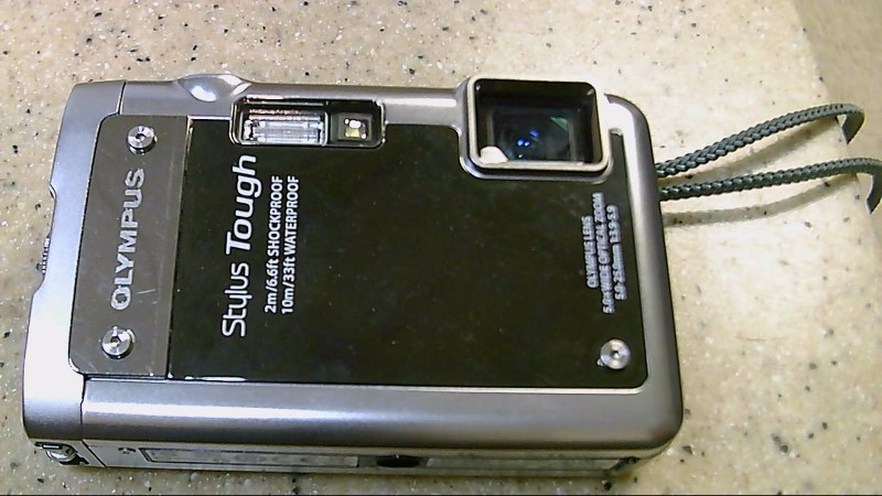 Olympus Stylus Tough 8000 Point and Shoot Digital Camera