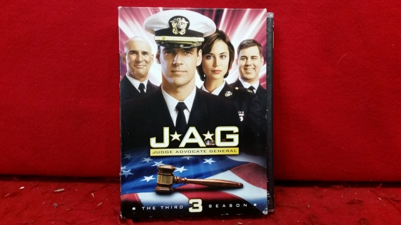 JAG - The Complete Third Season (DVD, 2007, 6-Disc Set)