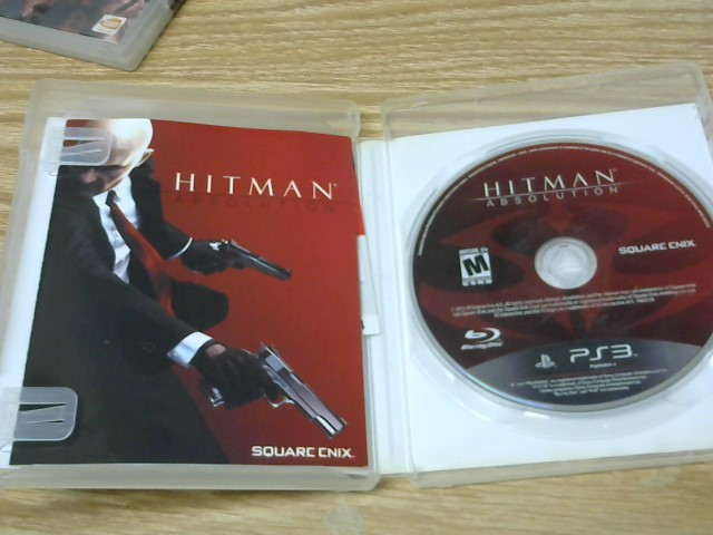 SONY Sony PlayStation 3 Game HITMAN ABSOLUTION