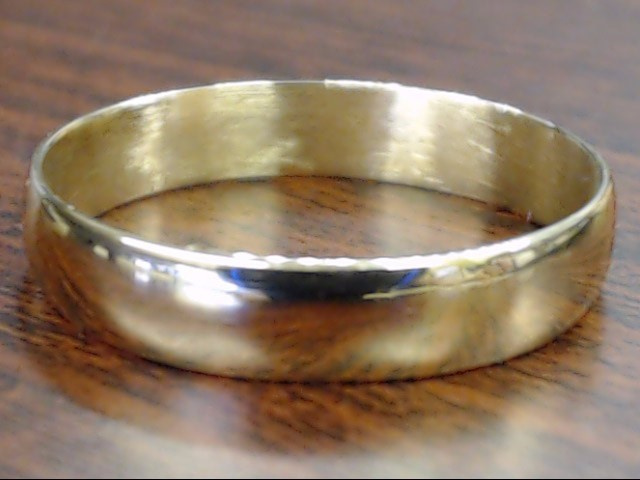 ESTATE CLASSIC WEDDING RING BAND SOLID REAL 18K ROSE GOLD MENS 11.25