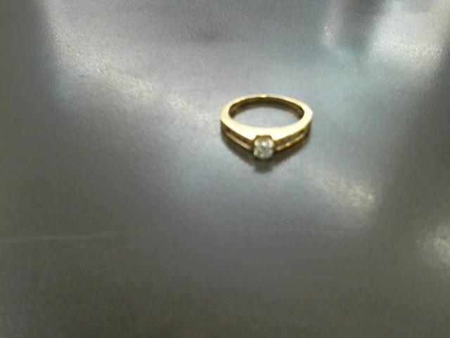 Lady's Diamond Cluster Ring 33 Diamonds .66 Carat T.W. 10K Yellow Gold 2.6g