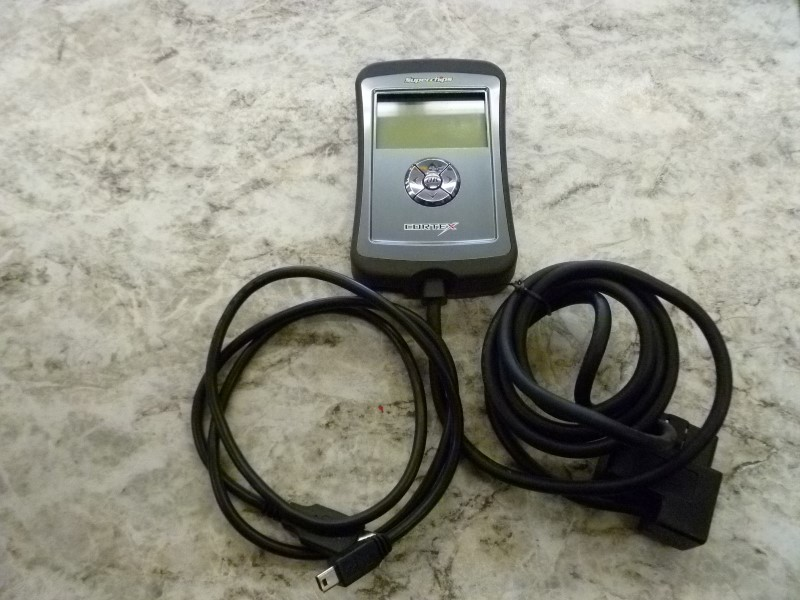 SUPERCHIPS CORTEX 1950 VEHICLE PERFORMANCE PROGRAMMER WITH CORDS AND MANUAL IOB