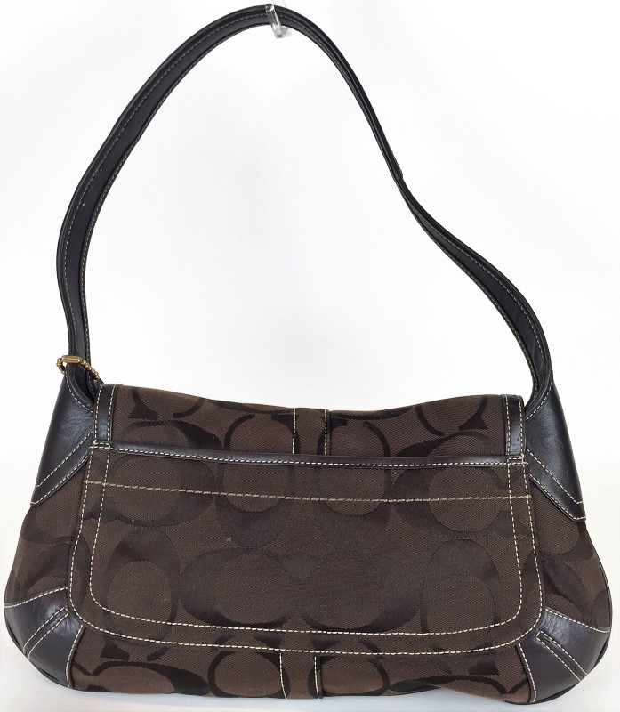 COACH 11257 BROWN MONOGRAM BAG