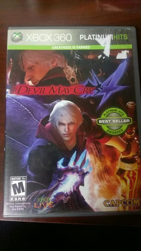 DEVIL MAY CRY XBOX 360 VIDEO GAME