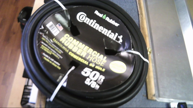 continental commercial grade water hose 50ft 5/8in