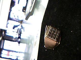 Gent's Diamond Fashion Ring 16 Diamonds .80 Carat T.W. 10K Yellow Gold 7.8g