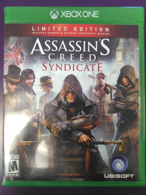 Assassins Creed Syndicate (Microsoft Xbox One, 2015) Limited Edition