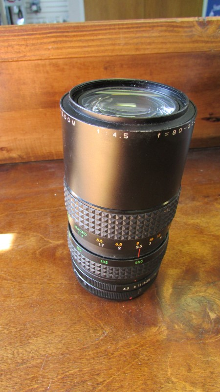 FOCAL MC F=80-200MM 1:4.5 LENS FOR CANON