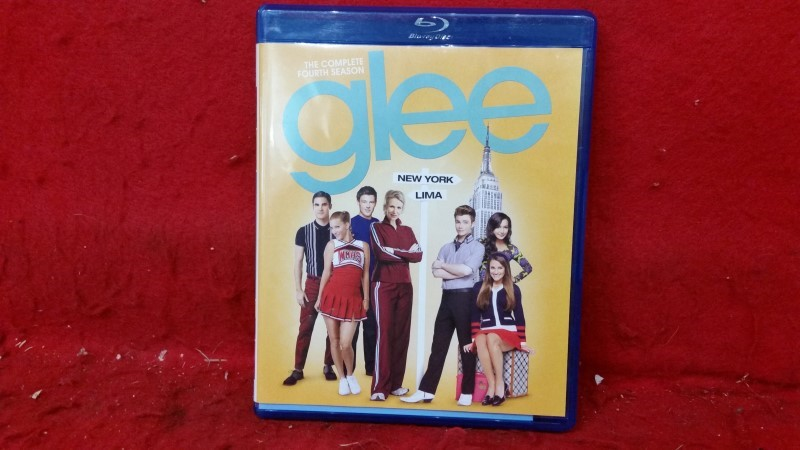 Glee: The Complete Fourth Season (Blu-ray Disc, 2013, 4-Disc Set)