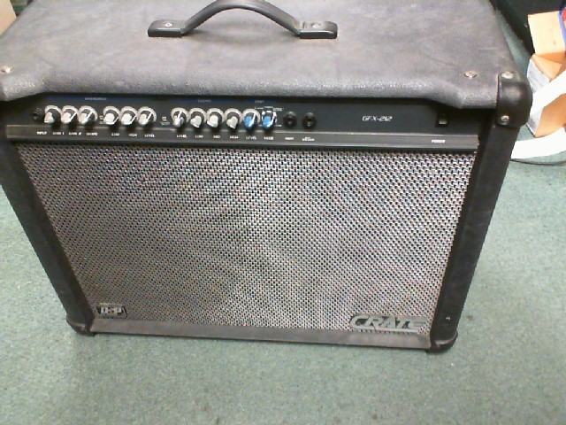 CRATE Acoustic Guitar Amp GFX212T
