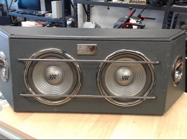 VR3 Speakers 2-WAY SPEAKER SYSTEM