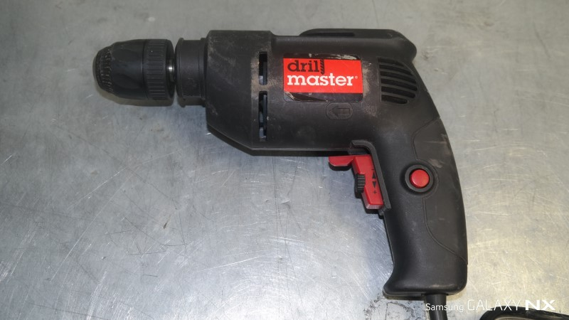 DRILL MASTER Corded Drill 3/8 VARIABLE SPEED REVERSIBLE DRILL