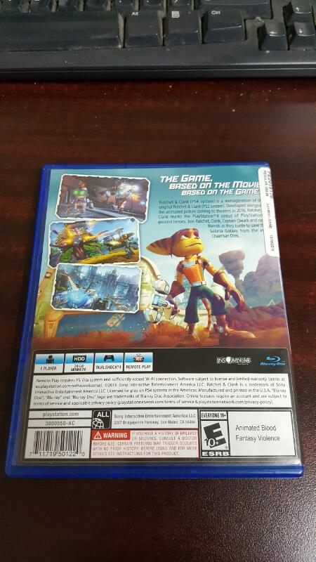 Ratchet & and Clank (Sony PlayStation 4, 2016) PS4