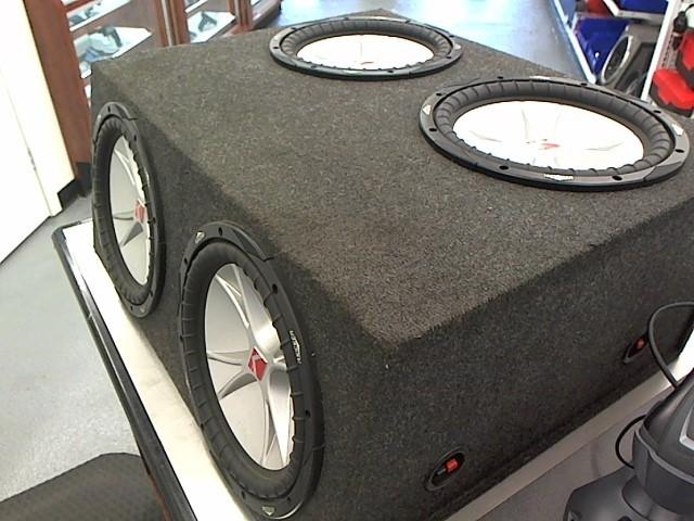 "KICKER Car Speaker Cabinet 12"" SPEAKER BOX"