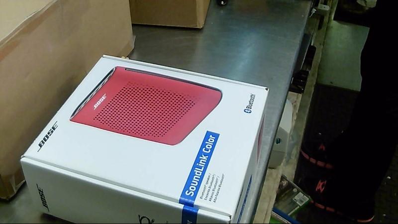 BOSE Speakers SOUNDLINK COLOR (RED)