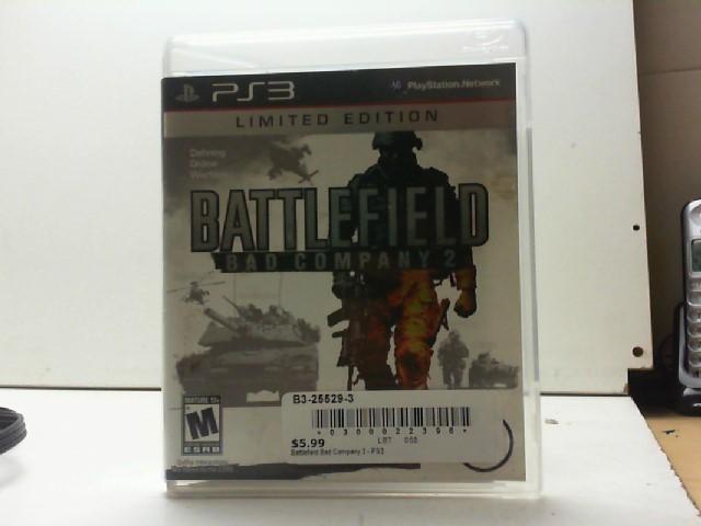 SONY Sony PlayStation 3 Game BATTLEFIELD BAD COMPANY 2