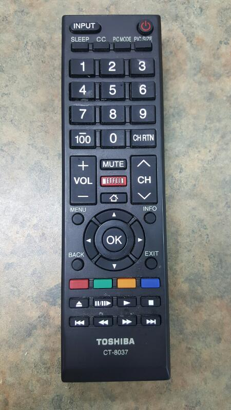 TOSHIBA Flat Panel Television 50L3400U