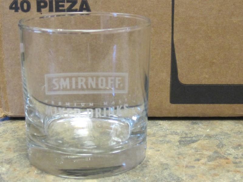 SMIRNOFF Glassware MALT GLASS