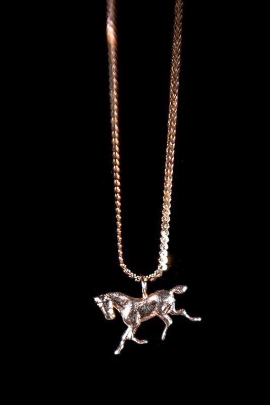 Gold Herringbone Chain 14K Yellow Gold 4.5g