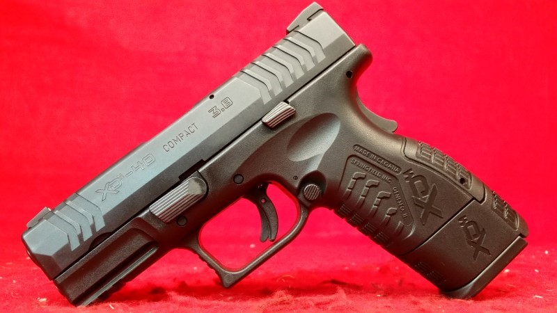 """Springfield XDM 45acp 3.8"""" Compact - Gear Package / 2 Mags"""