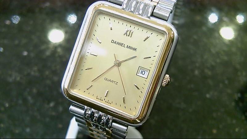 Swiss Daniel Mink Two Toned Gold Stainless Steel Watch 8.119.0.0.3