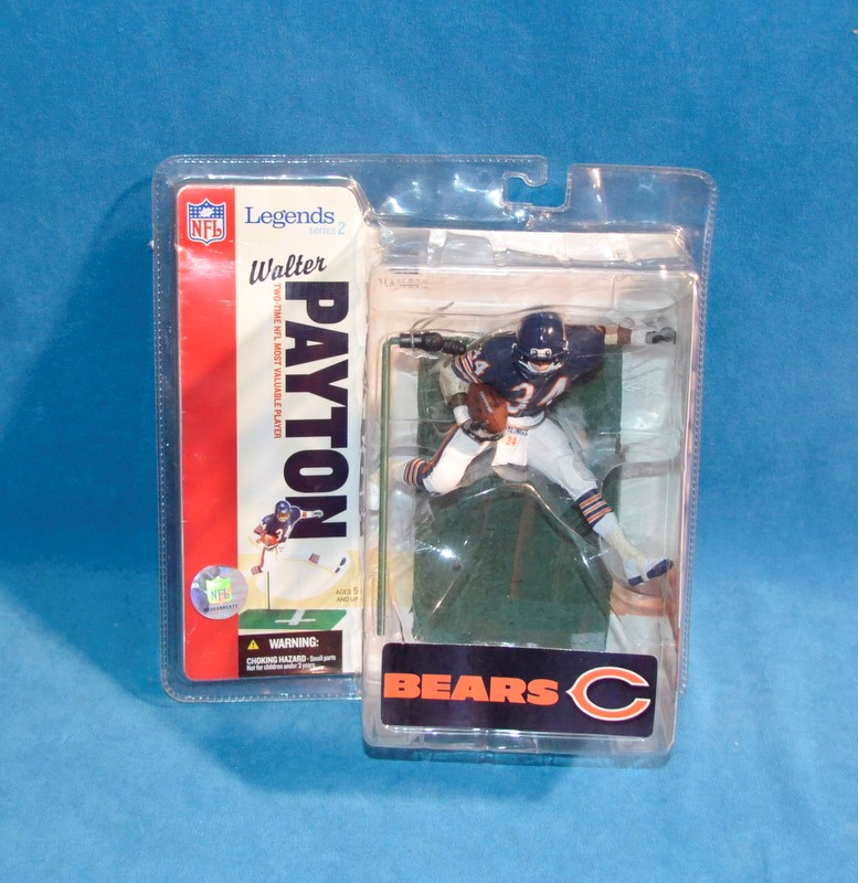 MCFARLANE TOYS Collectible Plate/Figurine WALTER PAYTON