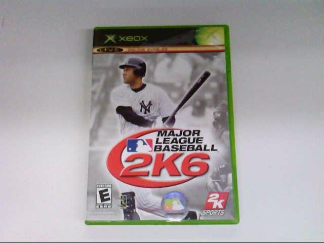 MICROSOFT XBOX MLB 2K6