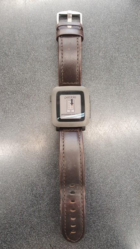 PEBBLE SMART WATCH Gent's Wristwatch PEBBLE TIME