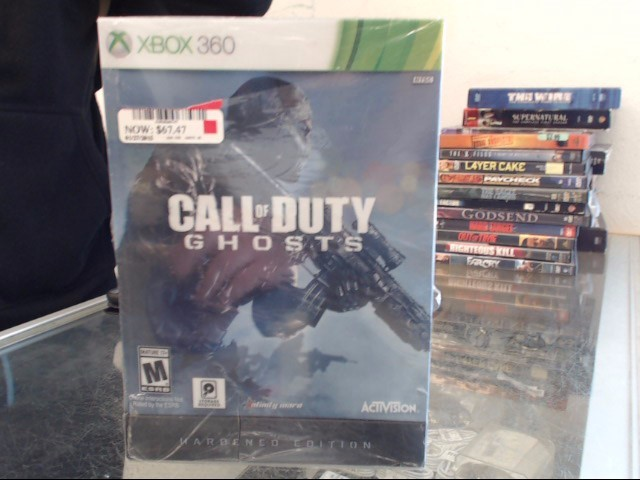 MICROSOFT XBOX 360 Game CALL OF DUTY GHOSTS HARDENED EDITION