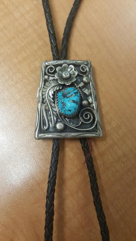 Synthetic Turquoise Silver-Stone Misc. 925 Silver 36.8g