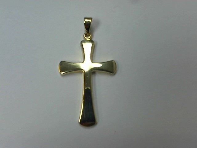 Gold Pendant 14K Yellow Gold 4.5g