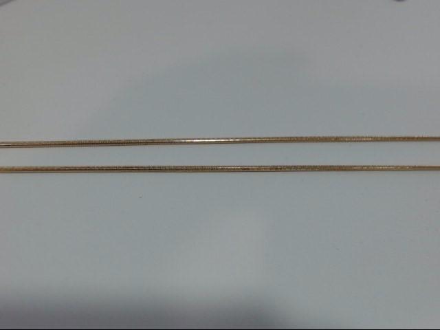 Gold Snake Chain 14K Yellow Gold 6.4g