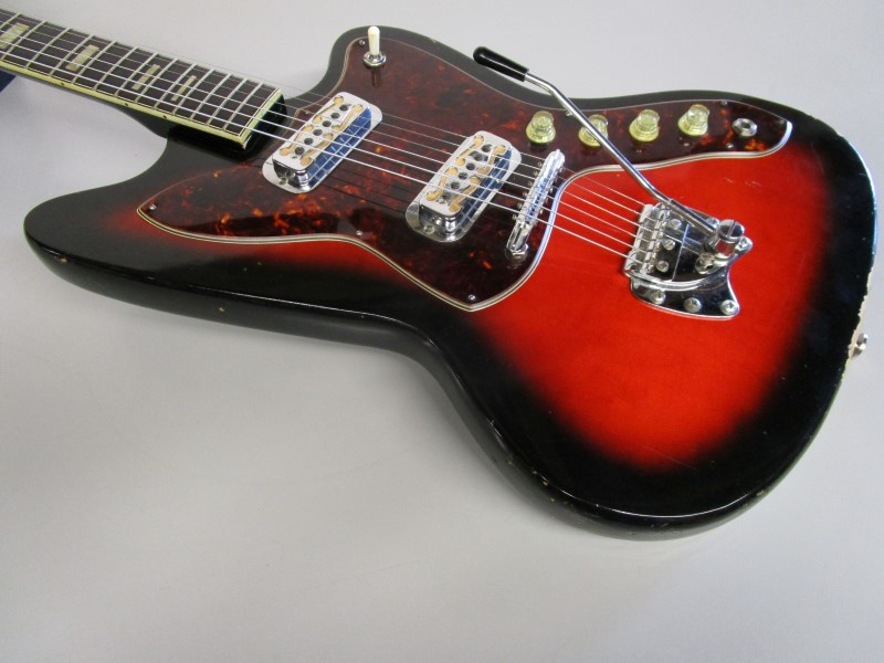 HARMONY H19 SILHOUETTE VINTAGE ELECTRIC GUITAR