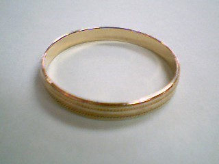 Gent's Gold Wedding Band 10K Yellow Gold 1.06g Size:12