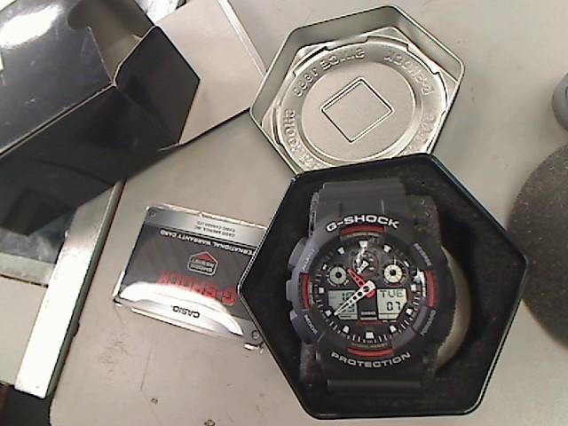 CASIO Gent's Wristwatch GA-110BW-1ACR