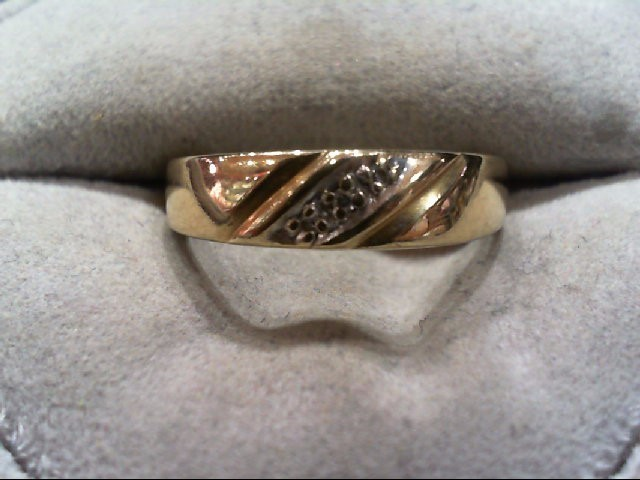 Lady's Gold Wedding Band 14K Yellow Gold 3g