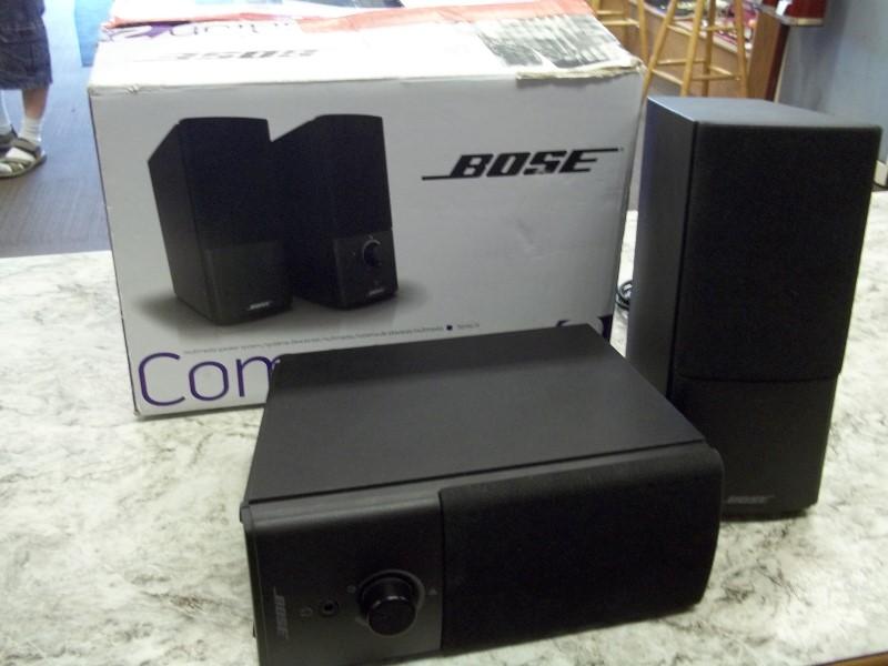 BOSE COMPANION 2 COMPUTER SPKS