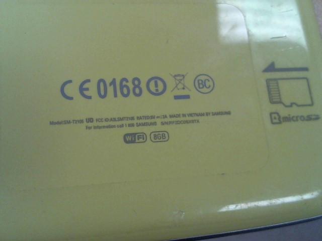 SAMSUNG Tablet SM-T2105