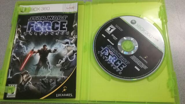 MICROSOFT Microsoft XBOX 360 Game STAR WARS THE FORCE UNLEASHED