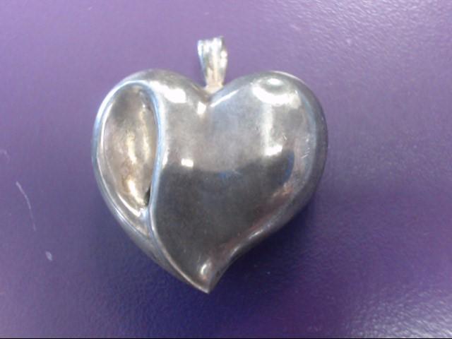 Gorham Silver Heart Pendant 925