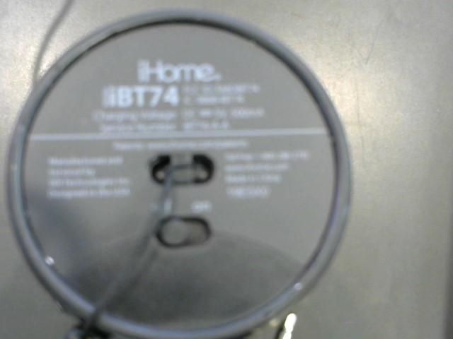IHOME Speakers IBT74