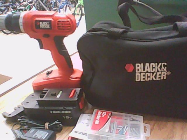 BLACK&DECKER Cordless Drill GC01800