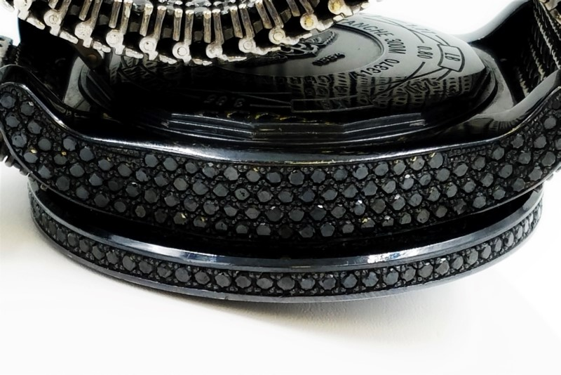Breitling Super Avenger Black Diamonds 55MM A13370