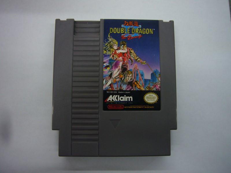 NINTENDO NES Game DOUBLE DRAGON II *CARTRIDGE ONLY*