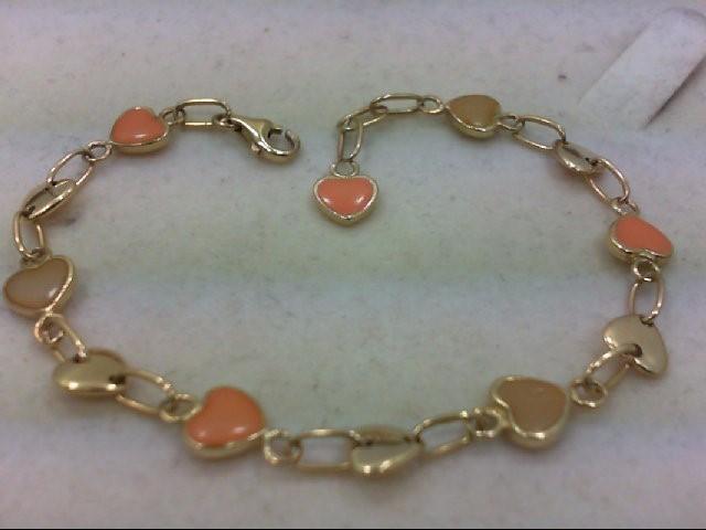 Gold Bracelet 14K Yellow Gold 7.5g