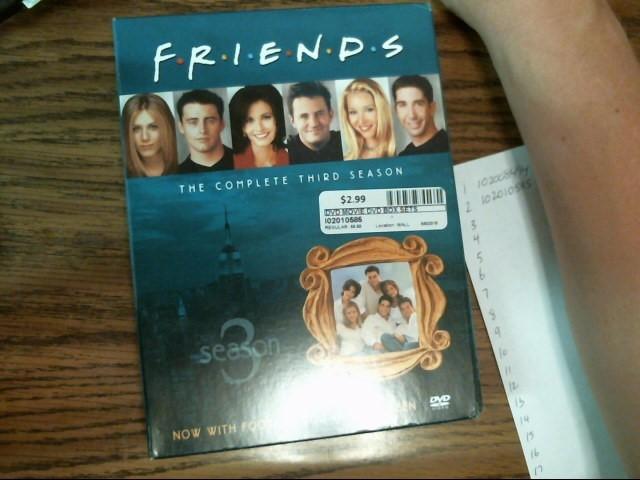 FRIENDS 3RD SEASON BOX SET