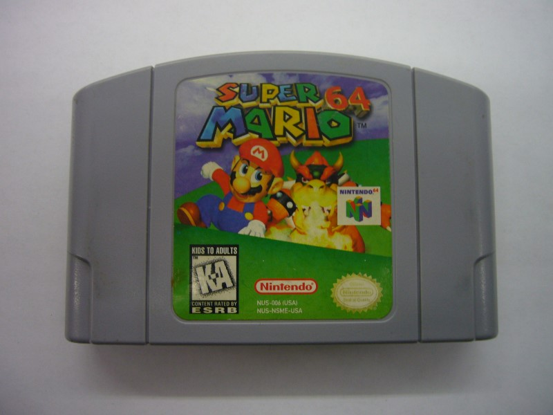 NINTENDO 64 Game SUPER MARIO 64 *CARTRIDGE ONLY*